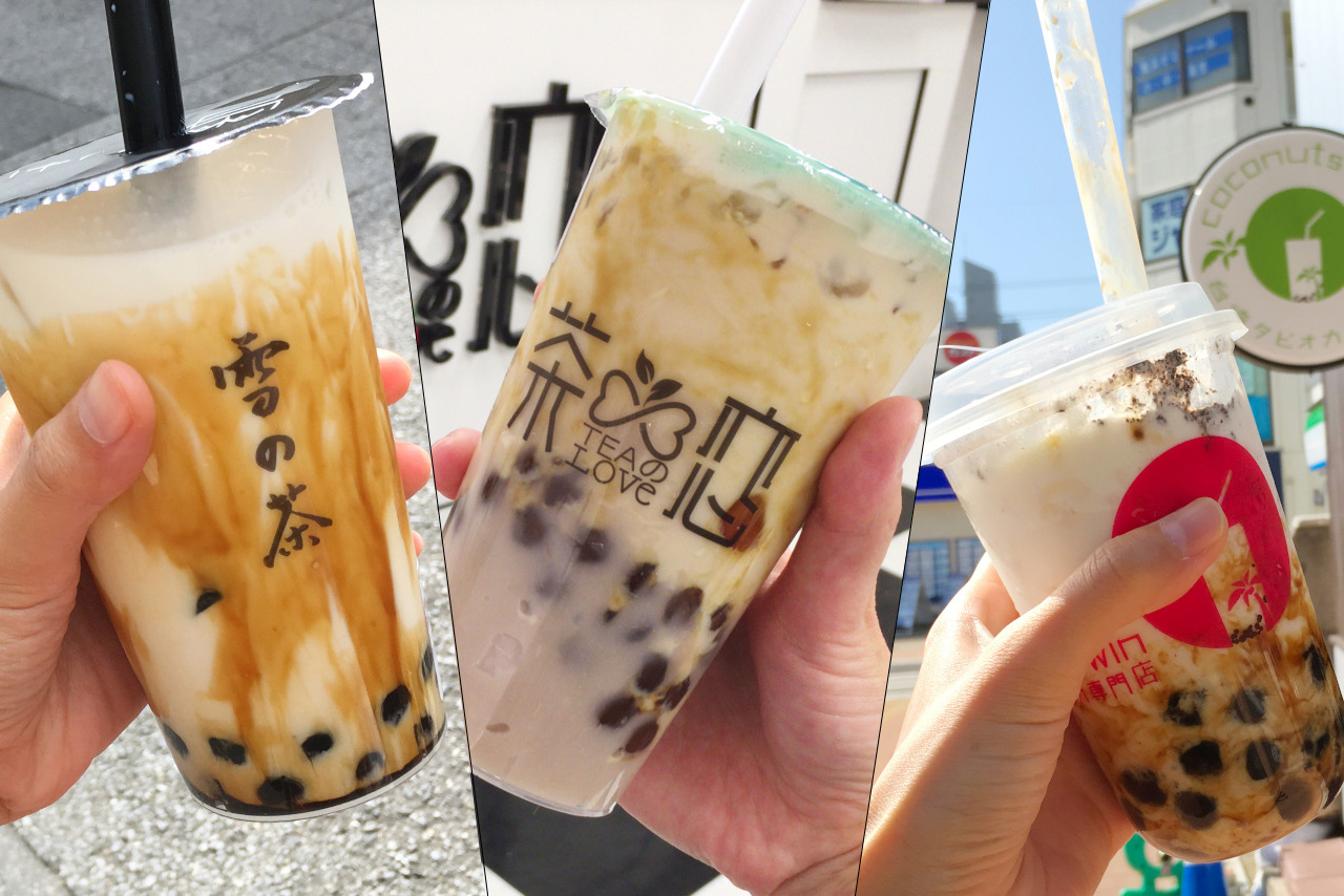 JR西千葉駅でタピ活!台湾タピオカ専門店3店舗を飲み比べ&メニューや値段を徹底比較