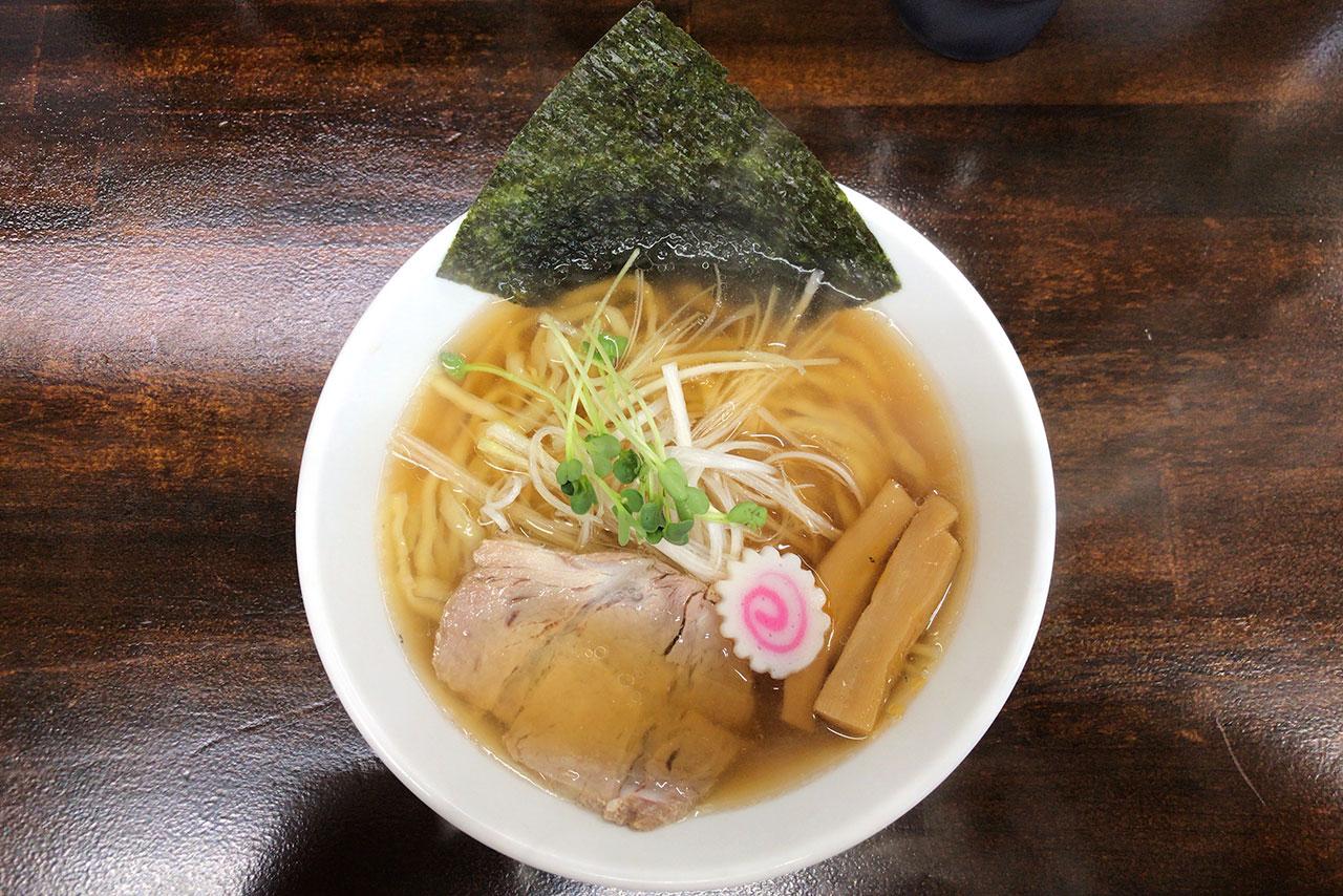 四街道大日に新オープン司奈そば七七三(ななみ)行ってきた!煮干し中華はあっさりながらもパンチのあるスープに平打ち麺が相性抜群