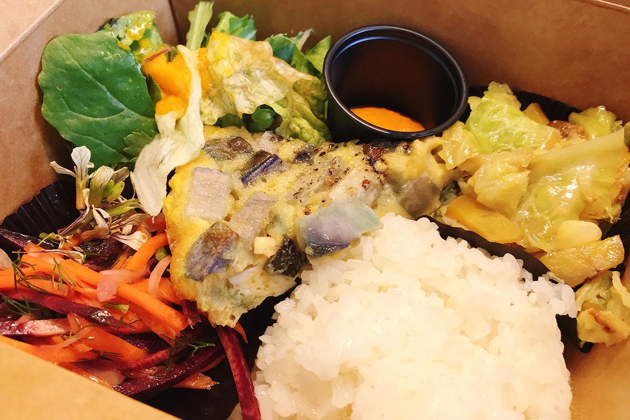 小倉台キレドベジタブルアトリエで野菜たっぷりランチボックスをテイクアウト!色鮮やかで超健康的なお弁当は定期的に食べるべし!