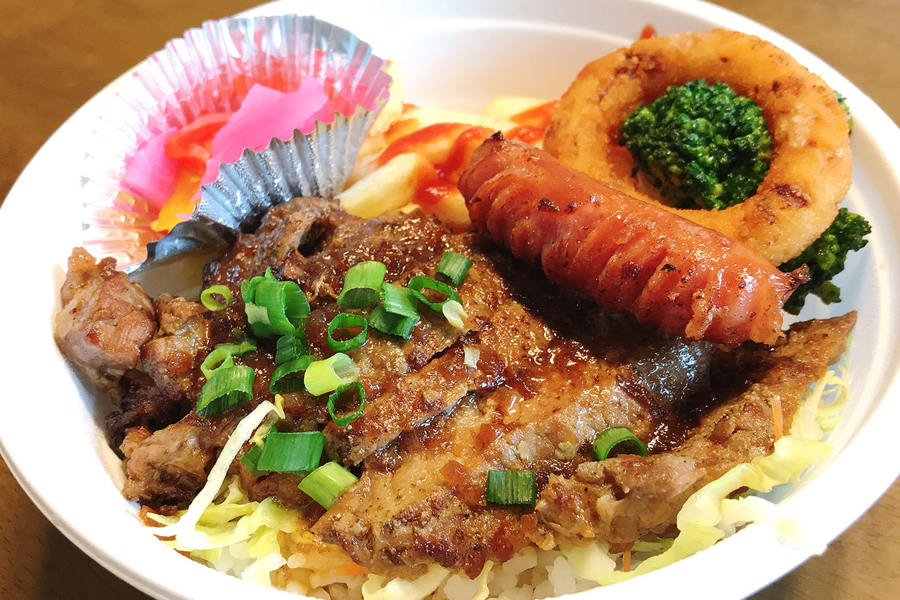 四街道駅近くの洋食ken-ta(けんた)日替わりテイクアウトのステーキ丼はしっとりジューシーな絶品お肉が破壊力抜群だった